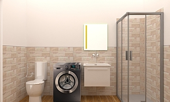 architeteto lavanderia Classic Bathroom Mario Cicero
