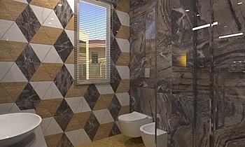 Bagno Ragazzi Wood Contemporain Salle de bain  AmbienteBagno  Antichi