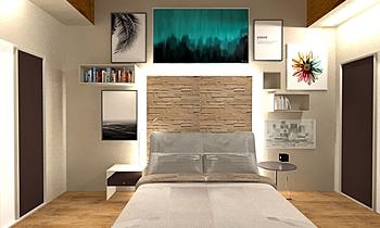camera alta Classic Bedroom MAURIZIO GUASCO