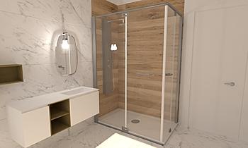 BAGNO RESIDENZIALE 1 Classic Bathroom Roberto Laganaro