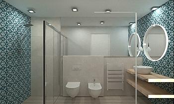 bagno casa vacanze -app p... Méditerranéen Salle de bain FABBRI IDROTECNOTERMICA srl FABBRI