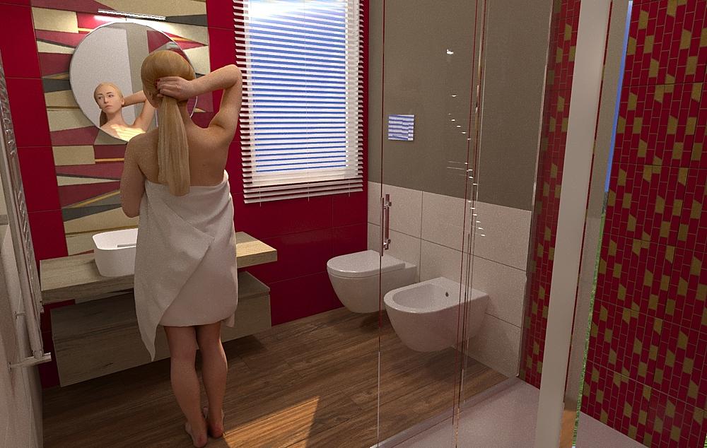Galletta Angelo Contemporary Bathroom Antonino Stracuzzi
