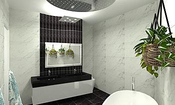 MCCLOY - ENSUITE 5 Classique Salle de bain UPTILES STRATHPINE QLD AU
