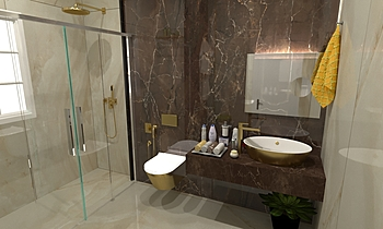 Guest bathroom Weman Classic Bathroom Zarrugh Company