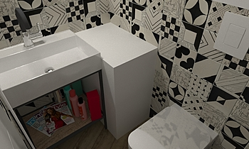 secondo bagno Classic Bathroom Luana Cossu