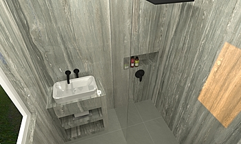 Dad's Room Classic Bathroom Ferreira's Architectural Surfaces