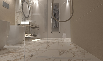 Project 2 marble Modern Bathroom Francesco Schillaci