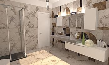 BAGNO RESIDENZIALE 2 Classique Salle de bain Roberto Laganaro