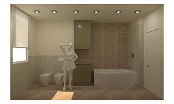 BAGNO Classique Salle de bain Francesca Faraoni