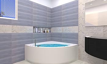 bagno 2 Classic Bathroom ceramiche  2s