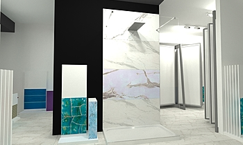showroom Classic Bathroom ceramiche  2s