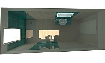 Progetto Bagno Classic Bathroom Laura Silvia Dessì  per MULTISERVICE sas .