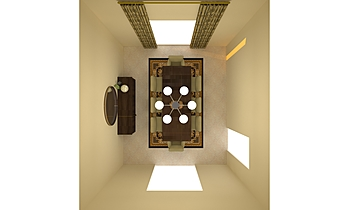 Dr Kakavand Dining Room -... Transizione Dining room eugene  tondre