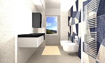 Digital art Classic Bathroom CATERINA GRILLONE