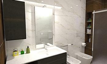 Bagno Val. Contemporain Salle de bain Gianluca Landriscina