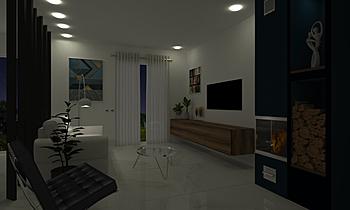 DnvenasobaSTUDIO Classic Living room Tjaša Furlan