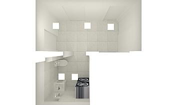 Koridor i toaletna Classique Salle de bain Mladen Popov