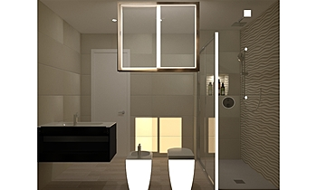 BAGNO ATLAS 3D DUNE SAND ... Modern Fürdőszoba Guglielmo Puglisi
