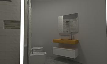 Bagno Cotton Pamesa Moderní Koupelna Raffaele Trifino