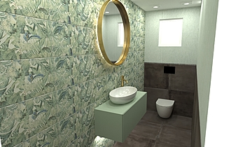 deko wc Classico Bagno HOUSE LTD