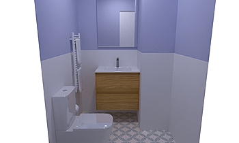 Espada p1503 aseo Classic Bathroom Equipamientos Espada