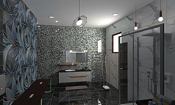 bathroom-01 Classique Salle de bain Kevin Patel