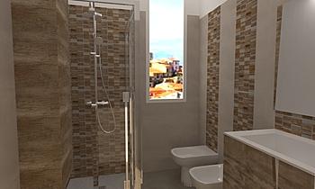 crete summer greige anemo... Modern Bathroom salvino imburgia