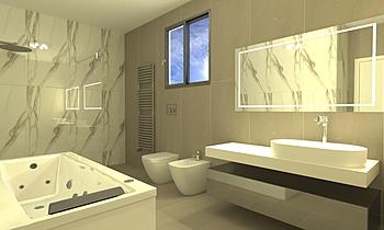 bagno borzi Classic Bathroom CARPINO SALVATORE