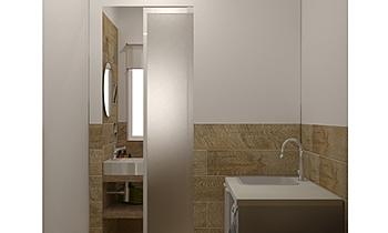 BAGNO LAVANDERIA Modern Bathroom Guglielmo Puglisi