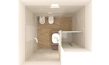BAGNO PICCOLO Classic Bathroom Marta Sassi