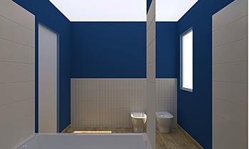 pelarom Classic Bathroom Enrico Noce