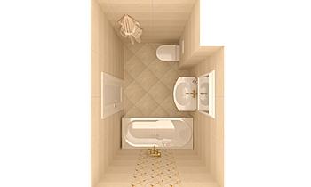 PLAIN STONE Klasický Koupelna Keraton Ob