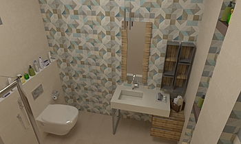 b Classic Bathroom ALMARKZIA AL HADITHA