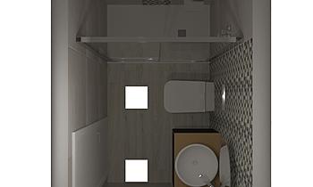 BAGNO PICCOLO LAMBADA Contemporary Bathroom Guglielmo Puglisi