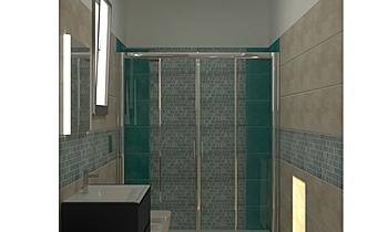 BAGNO GRANDE ATLAS FLUX Classic Bathroom Guglielmo Puglisi