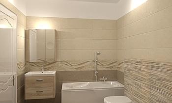 OH - Concrete Classic Bathroom Terrakotta  Csempecentrum