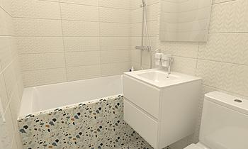8749-1 Modern Fürdőszoba Bania Still