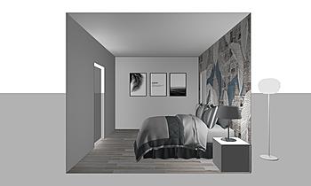 camera da letto Klassiker Badezimmer MATERIA da  ABITARE