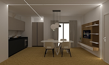 L1S Classico Living LAKD Lattanzi Kitchen Design
