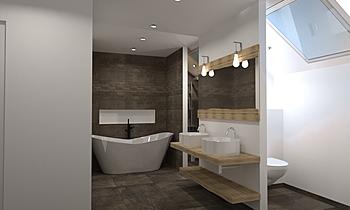 Henneaux (T-Palm) Classique Salle de bain Céline Burton