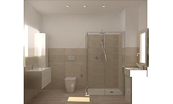 BAGNO EVOLUTION DUNE GREI... Modern Fürdőszoba Guglielmo Puglisi