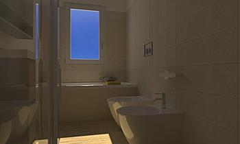 bagno vasca PRIME STONE Modern Fürdőszoba Alessandra Magnanini