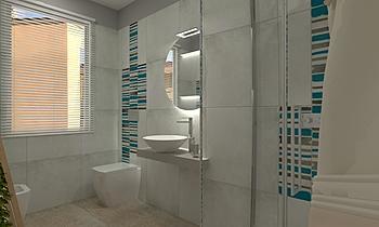 Bagno Uno Zeitgenosse Badezimmer  AmbienteBagno  Antichi