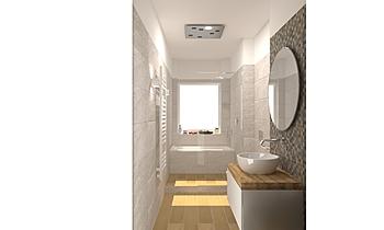 bagno vasca-doccia Klassiker Badezimmer HABIMAT Focardi e cerbai