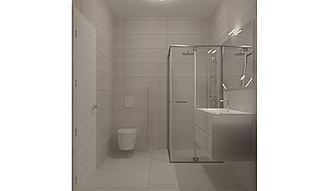 Banjo madhe Classic Bathroom Donart Sahiti
