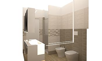 BAGNO2 Classic Bathroom Giulia Ninni