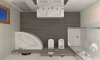 Bagno Atlas 3D Classic Bathroom COVERINGS .IT
