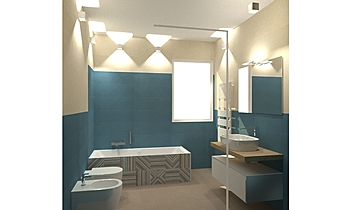 rubino grande Classic Bathroom Davide D'Orso