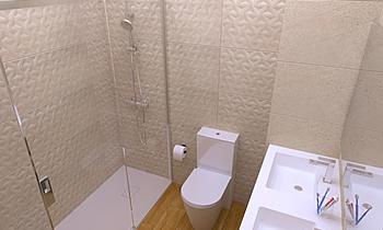 FELIX Y AMPARO Klasický Koupelna Exposición  Terrapilar