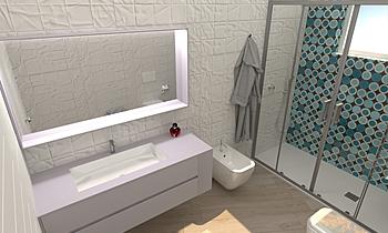 HUB bubble Modern Bathroom Giuseppe Talarico